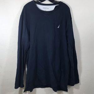 Nautica Men's Long Sleeve Shirt XXL 2XL